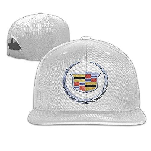 maneg-cadillac-logo-unisex-fashion-cool-adjustable-snapback-baseball-cap-hat-one-size-white