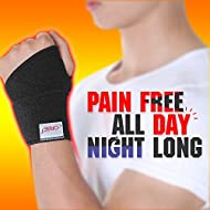 ORBE Premium Wrist Brace: Flexible & Comfortable Wristband For Men & Women | Breathable & Adjustable Compression Support For Pain Relief & Injury Recovery | Carpal Tunnel, Arthritis & Tendonitis