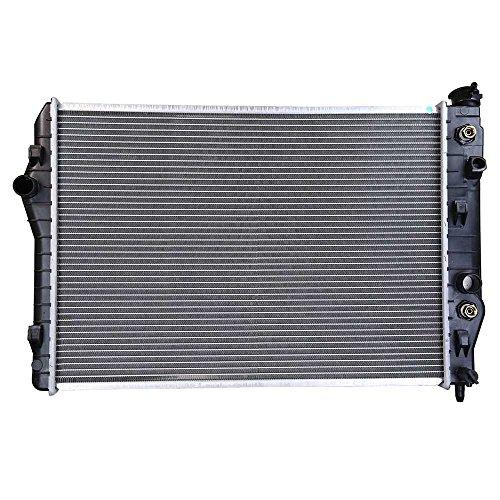 Prime Choice Auto Parts RK591 New Complete Aluminum Radiator