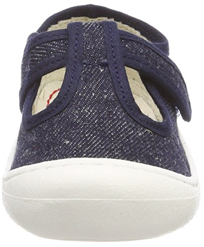 Pololo Unisex Baby Arena Sneaker Blau (Jeans)