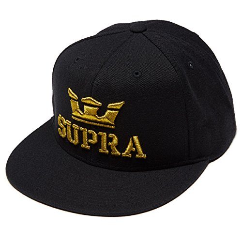 (Supra Above Snap Hat - Black/Gold)