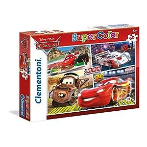 Clementoni Cars Supercolor Puzzle 60 Pezzi 26953