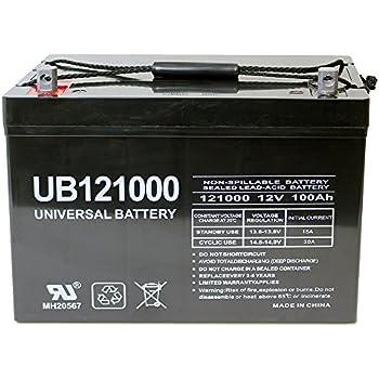 12V 100AH SLA2770 SLA2735 DCM0100 MPS12100 UPS80 AGM Battery