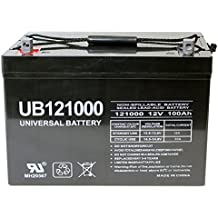 Group 27 12V 100Ah Sealed Lead Acid Rechargeable Deep Cycle Battery