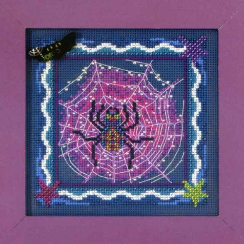 Mill Hill Beads Buttons Counted Cross Stitch kit - Tangled Web -