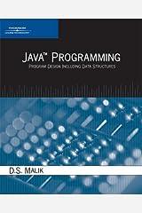 Java Programming: Program Design Including Data Structures Paperback