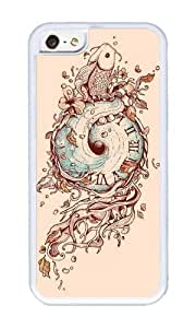 Apple Iphone 5C Case,WENJORS Cool A Temporal Existence Soft Case Protective Shell Cell Phone Cover For Apple Iphone 5C - TPU White