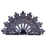AHAPPY 10 Pcs 1.8''x 1.2'' Peacock Table Place Card Number Holders,Party Favors, Wedding Decorations