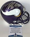ALL DAY!!! Adrian Peterson Signed MINNESOTA VIKINGS Mini Helmet BAS Beckett PIC PROOF