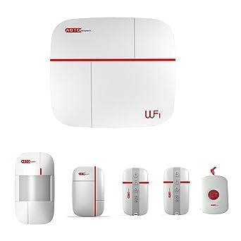 SZABTO Vcare Wireless GSM WIFI Sistema de alarma para el sistema de seguridad para el hogar (A)