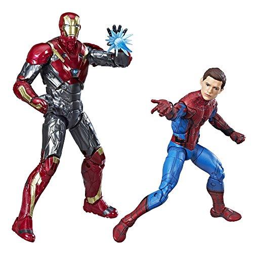 Marvel Legends Spider-Man: Homecoming 2-Pack (Spider Figure Man Stick)