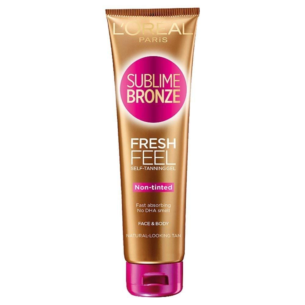 loreal sublime bronze spray face