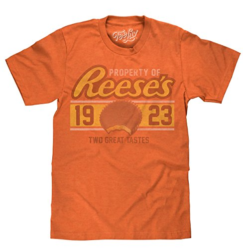 Property of Reese's T-Shirt | Soft Touch Fabric-X-Large  Orange Heather