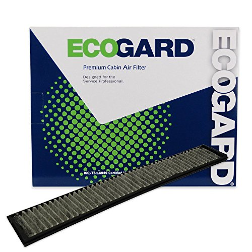 ECOGARD XC15510C Cabin Air Filter with Activated Carbon Odor Eliminator - Premium Replacement Fits BMW 3-Series