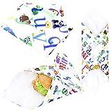 Wegreeco Reusable Sandwich Wrap, (Set of 3) - Animal Alphabet