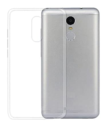 Scudomax luxury crystal clear transparent back cover for Mi Redmi Note 4 Cases   Covers