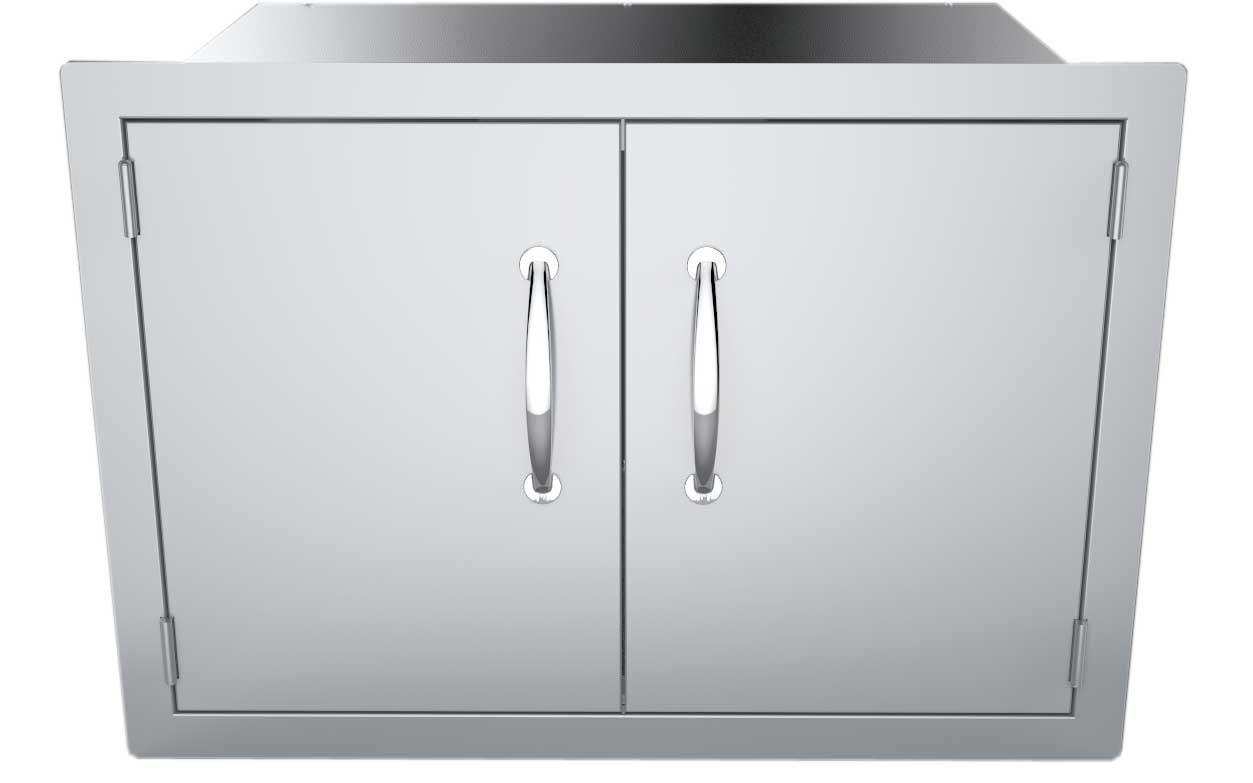 SUNSTONE DSH30 30-Inch Double Door Dry Storage