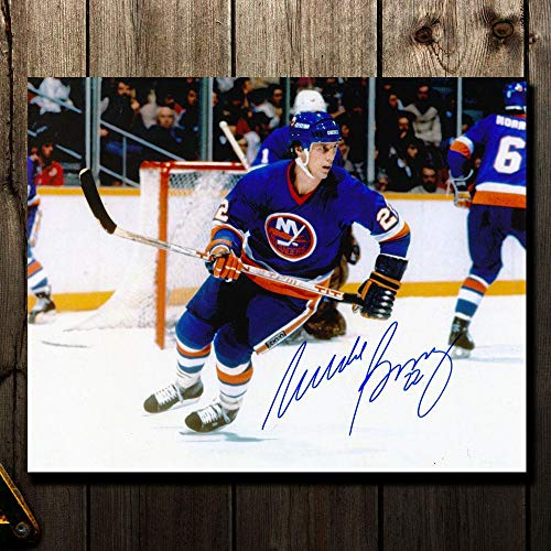 Mike Bossy Signed Photograph - BREAKOUT 8x10 - Autographed NHL Photos