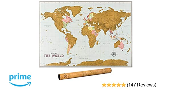 Scratch Off Map of The World - Premium Edition - World Scratch Off on map of canada with provinces, google maps with state names, map united states happiness, map of the most racist states in the usa, map of us states with state abbreviations, new york map with state names, american 50 states map with names, world map with state names, map of las vegas strip with hotel names, full state names, map of usa and mexico, united states with state names, map canada with state names, map of canada with faces on it, map of texas with cities and towns, time zone map usa with state names, map of texas counties with names, map of georgia counties with names, asia map with state names, us map with state names,