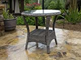 Tortuga Outdoor Garden Patio Bayview Side Table - Best Reviews Guide