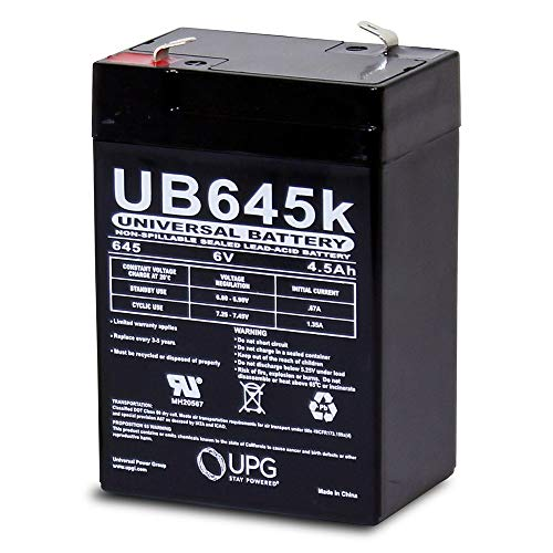 6V 4.5AH SLA Battery Replaces Power Wizard PW50S Electric Fence Energizer