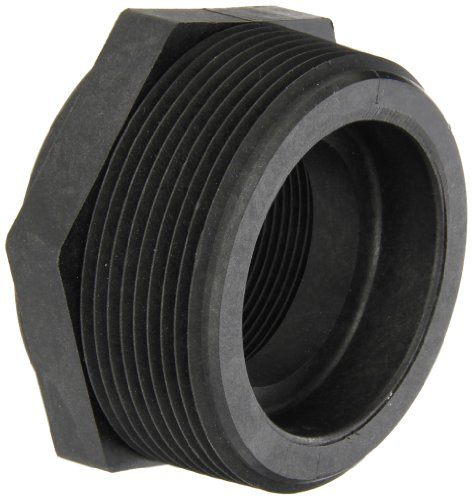 Banjo RB300-200 Polypropylene Pipe Fitting, Reducing Bushing, Schedule 80, 3 NPT Male x 2