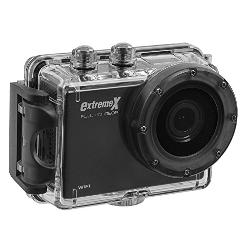 MiGear Extreme X Explorer 1080p Action Camera Bundle with Waterproof Case ()