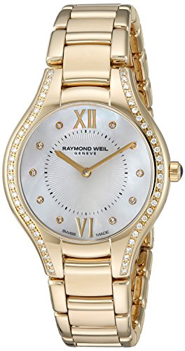 Raymond-Weil-Womens-Noemia-Swiss-Quartz-Stainless-Steel-Dress-Watch-ColorGold-Toned-Model-5132-PS-00985