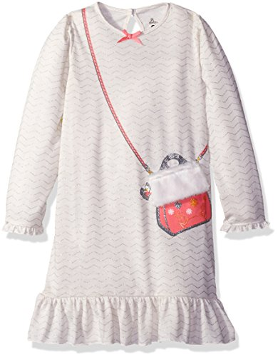 Petit Lem Little Girls' Winter Purse Nightgown, Fox, 2