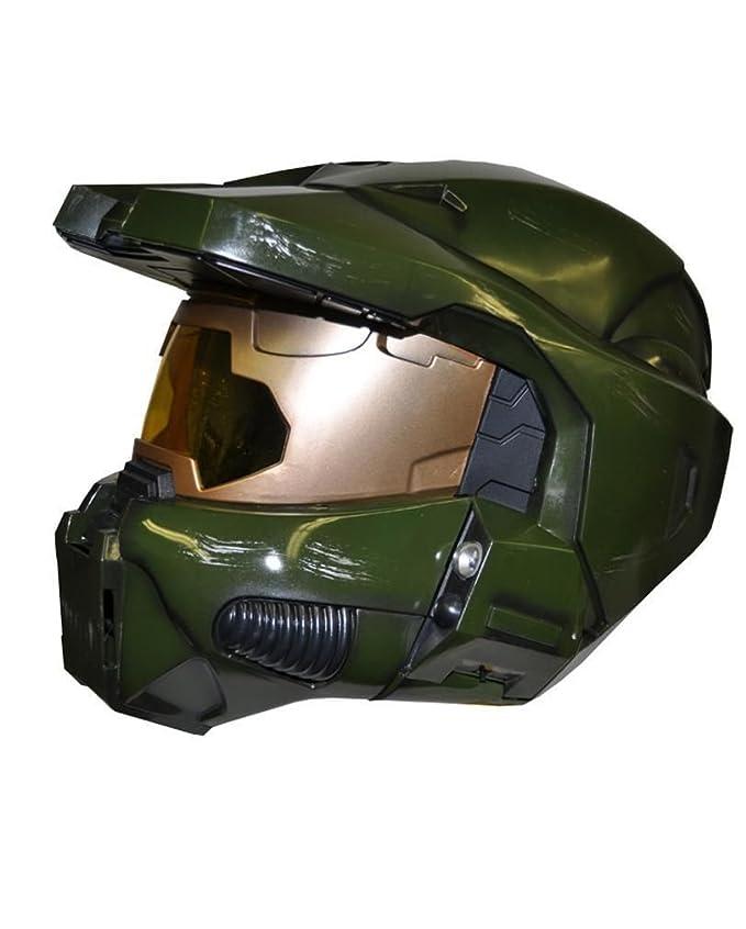 Horror-Shop Jefe de Halo 3 Master Deluxe Casco: Amazon.es: Juguetes y juegos