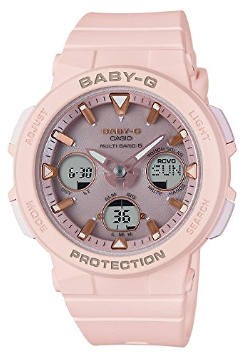 [해외] [카시오] 손목시계 BABY-G BEACH TRAVELER 전파 솔라 BGA-2500-4AJF 레이디스 핑크