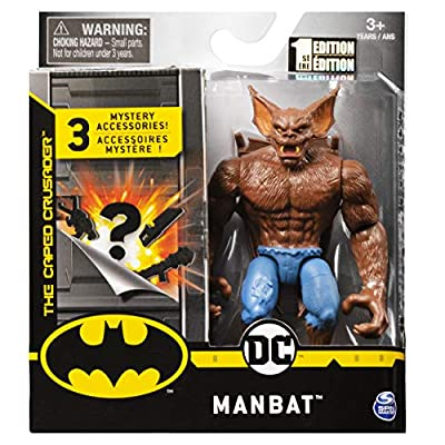 DC Batman 2020 Man-Bat 4-inch Action Figure by Spin Master: Toys & Games