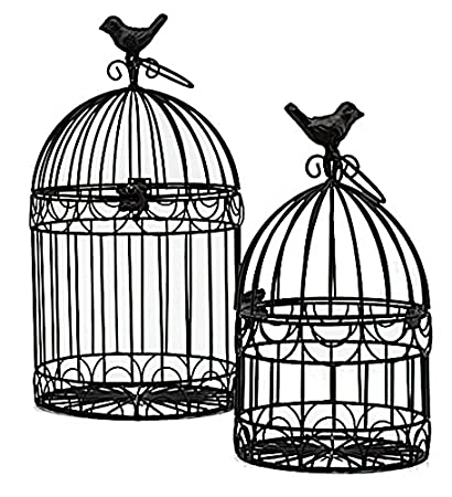 Amazon Decorative Bird Cages Wedding Reception Gift Card Holder