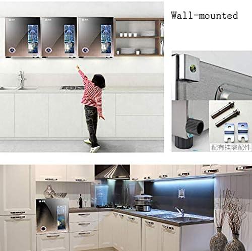 ZHAO Mural Professionnel Chaud Serviette désinfection Cabinet - Facial Spa et équipement de Salon Bouton de contrôle indépendant Disin