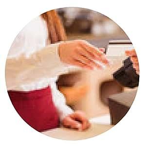 alfombrilla de ratón Joven y bella mujer en una panadería - ronda - 20cm