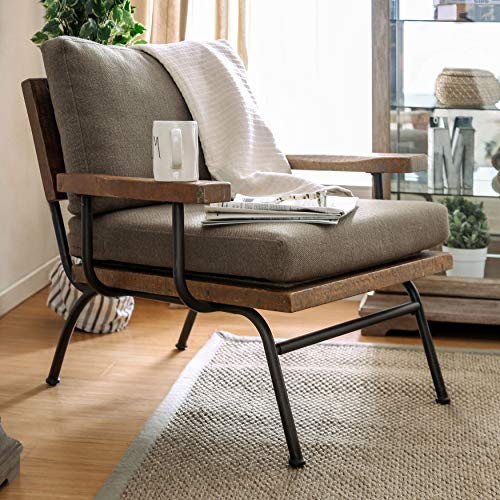 HOMES: Inside + Out IDF-AC6077 Yenitt Accent Chair