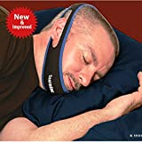 SnoreDoc™ Adjustable Anti-Snoring Chin Strap –– Natural Snore Stopper and Instant Snore Relief - Simple and Effective Snore Remedy -NEW AND IMPROVED