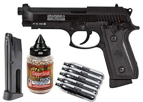 Swiss Arms P92 Full Metal CO2 Blowback Pistol Kit air pistol