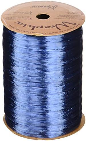 1//4 Wide Berwick Offray Matte Royal Blue Raffia Ribbon 100 Yards