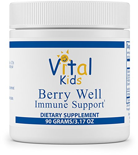 Elderberry Immune System (Vital Nutrients - Berry Well Immune Support - Supports and Maintains Healthy Immune System Function - 90 Grams)