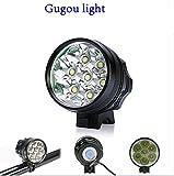 Gugou 10000lumen 7xcree Xml Xm-l T6 Mtb Led Bicycle Light Headlight+12000...
