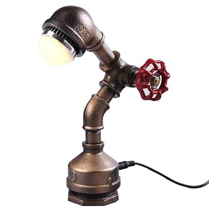 JJJJD Base de la lámpara de escritorio industrial de la ...
