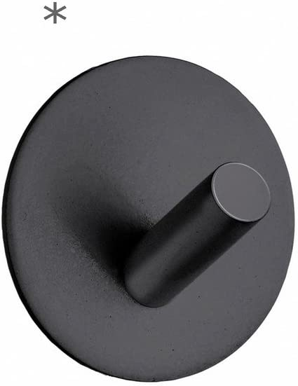 Beslagsboden Single Wall Mounted Hook Finish Black Matte Stainless Steel Home Kitchen
