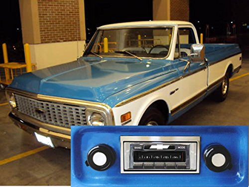1967-1972 Chevrolet Truck USA-630 II High Power 300 watt AM FM Car Stereo/Radio with iPod Docking Cable (Stereo For Chevy Truck compare prices)