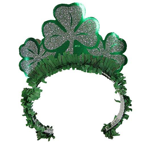 [Unbranded 25 Pack Unisex Saint Patrick's Day Shamrock Headband Costume Accessory] (St Patrick The Saint Costume)