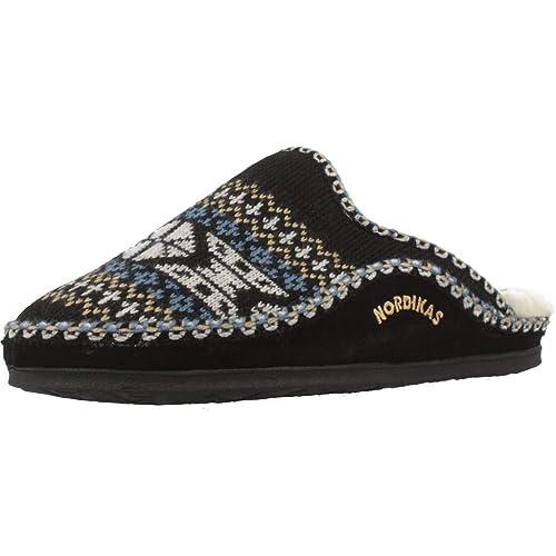NORDIKAS Classic, Zapatillas de Estar por casa con talón Abierto para Hombre: Amazon.es: Zapatos y complementos