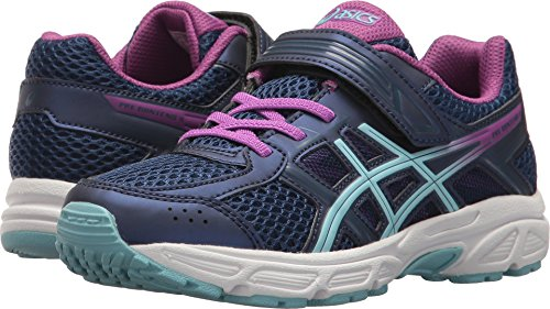 Price comparison product image ASICS PreContend 4 PS Shoe Kid's Running 2 Indigo Blue-Porcelain Blue-Orchid