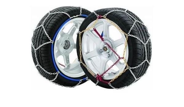 Hielo agarre 9 mm - K90 - Muelle tensor - Easy fit - Coche Nieve y Hielo Grip - Cadenas para neumáticos tamaño - 215/40 - 18 (vendido en pares): Amazon.es: ...