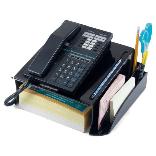 Officemate Recycled Telephone Stand, Black