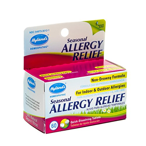Hyland's Seasonal Allergy Relief Tablets, Natural Non ...